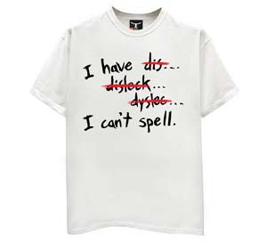 Dyslexia-shirt