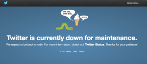 Twitter is DOWN??