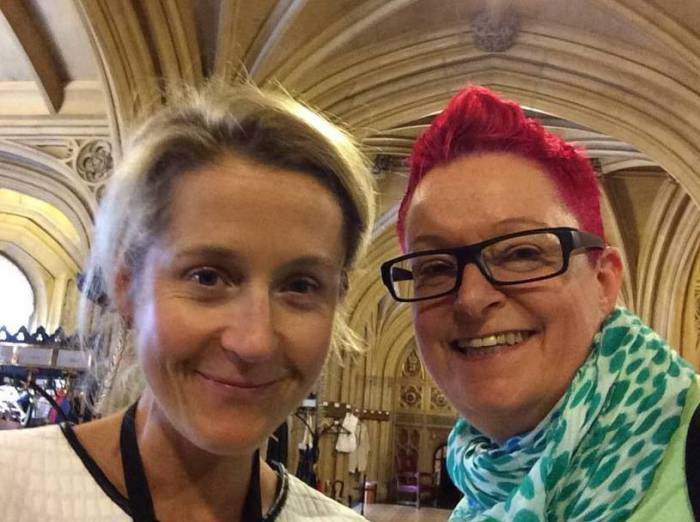 #selfie In the House of Lords with Baroness Martha Lane Fox