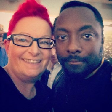 With Will.i.am at the Wayra pitch night 2014