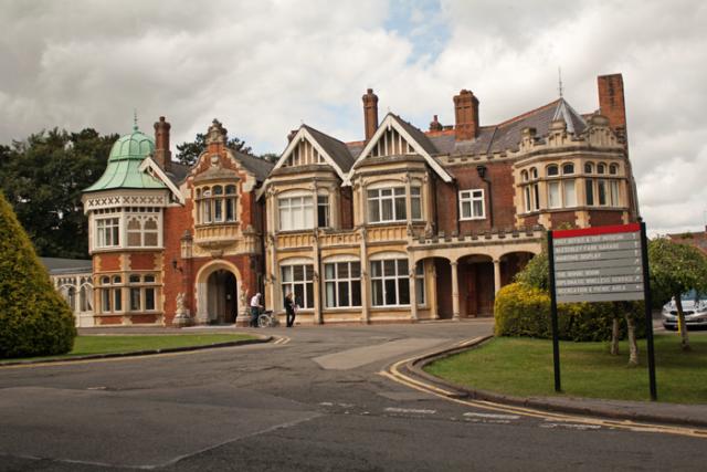 The Mansion, Bletchley Park Museum, Milton-Keynes, UK. © J. Lynn Stapleton, 6th August 2013
