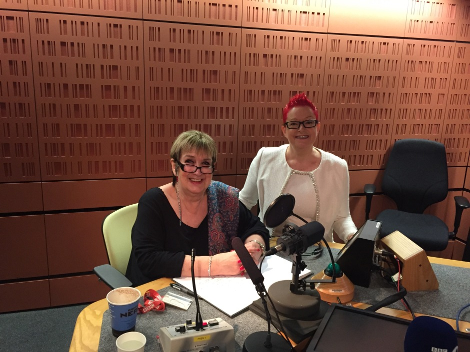 "Interviewed by Jenni Murray on BBC Radio 4 ""Woman's Hour"""