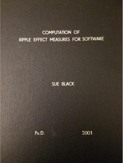 phd cover sue black